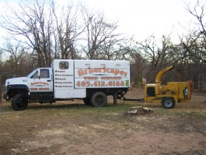 Arborscapes Truck Grinder